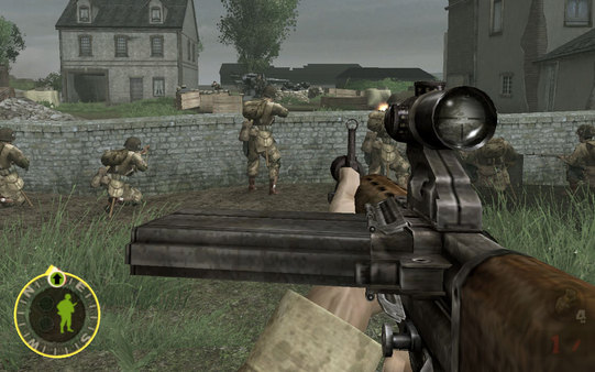 Brothers in Arms: Earned in Blood™ Screenshot
