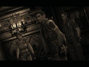 Resident Evil Remake Chris Redfield