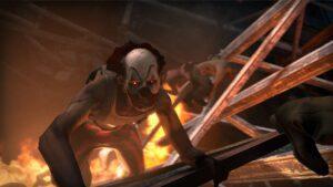 Oyunun yeni çeşit paylaço kılığındaki zombilerinden biri.