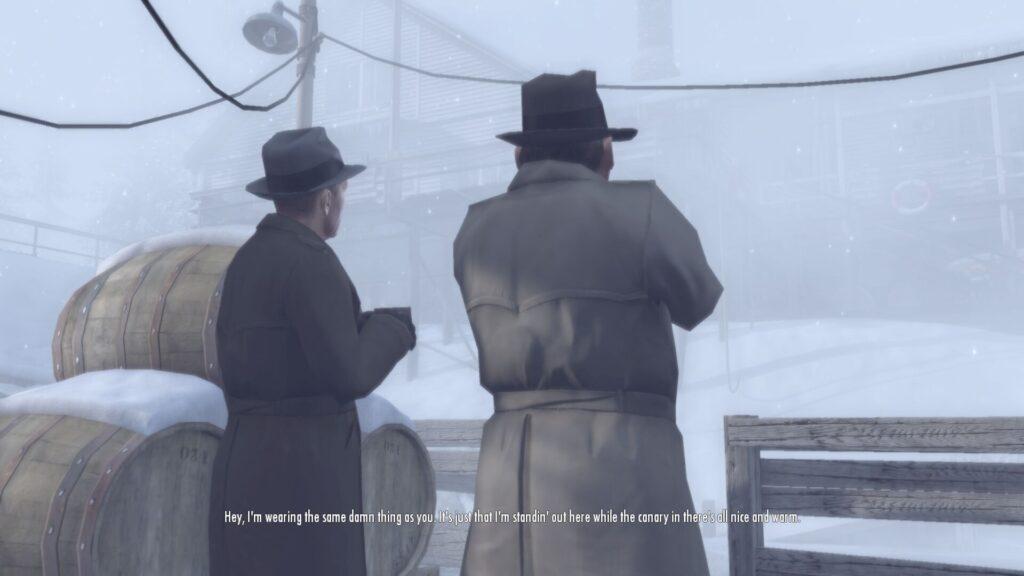 Vito'yu Hapisaneye gönderen polisler.